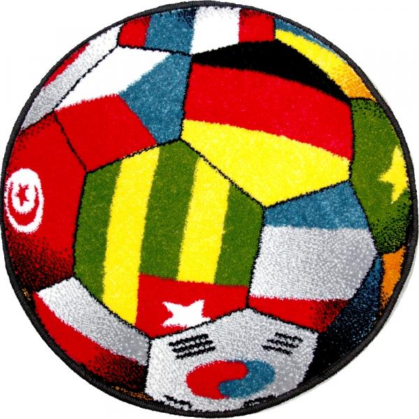 Covor Kolibri, Rotund, Minge, UEFA 2020, 67x67 cm, 2300 gr/mp 0