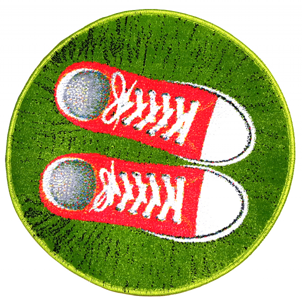 Covor Kolibri, Rotund, Sneakers, 67x67 cm, 2300 gr/mp [0]