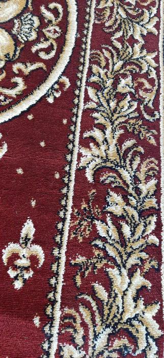 Covor Lotos, Model Bisericesc, 15032, Oval, Rosu, 150x230 cm, 1800 gr/mp [4]
