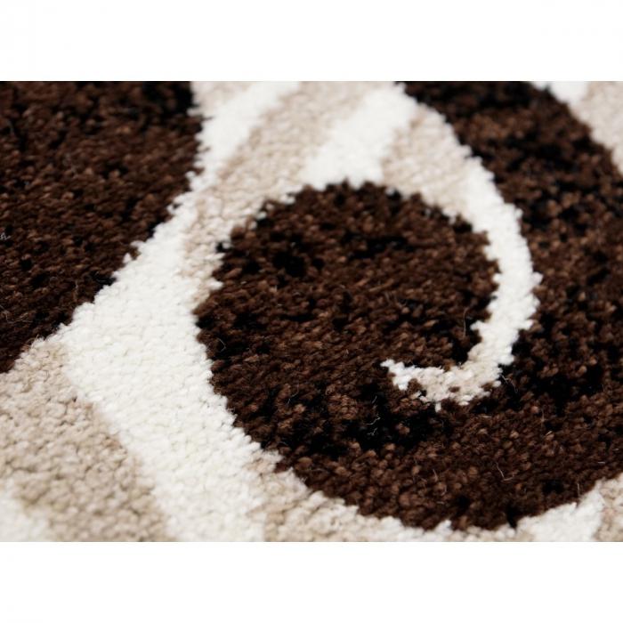 Covor Modern, Cappuccino 16025, Oval, 200x300 cm, 1700 gr/mp [5]