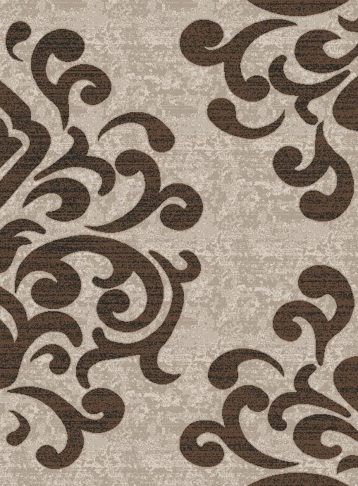 Covor Modern, Cappuccino 16028, Bej / Maro, 60x110 cm, 1700 gr/mp 0