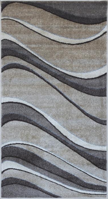 Covor Modern Daffi 13001-120, Bej / Maro, 200x300 cm, 1700 gr/mp [0]