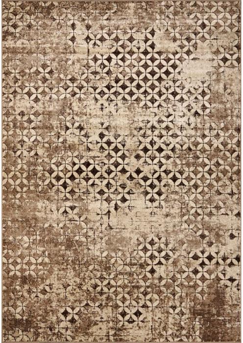 Covor Modern, Daffi 13156, Maro/Bej, 100x200 cm, 1700 gr/mp [0]