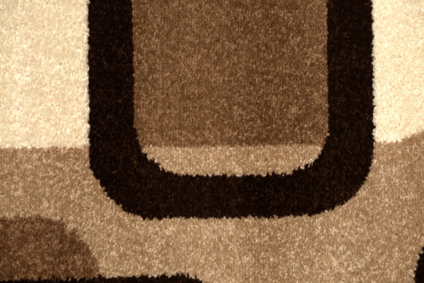 Covor Modern, Espresso 1347, Bej / Gri / Maro, Oval, 80x150 cm, 1680 gr/mp, 0.8x1.5 m. 1