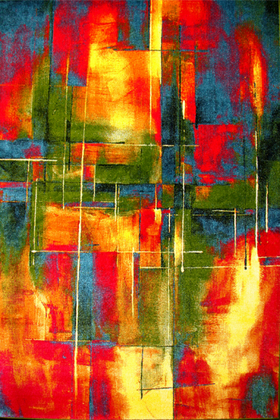 Covor Modern, Kolibri Abstract, 80x150 cm, 2300 gr/mp [0]