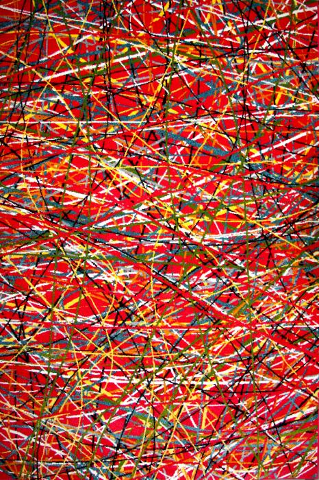Covor Modern, Kolibri Art, Rosu, 120x170 cm, 2300 gr/mp 0