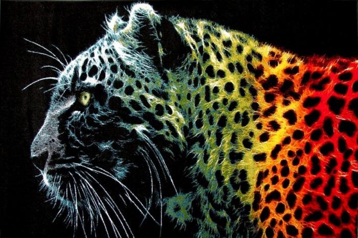 Covor Modern, Kolibri Black Leopard, 120x170 cm, 2300 gr/mp [0]