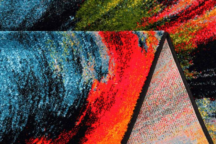 Covor Modern, Kolibri Brush 11017, Multicolor, 120x170 cm, 2300 gr/mp [8]