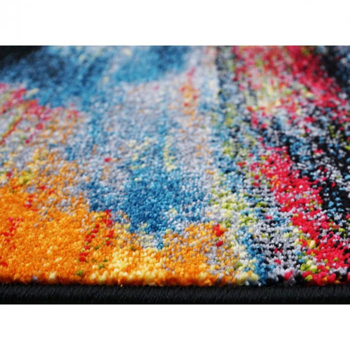 Covor Modern, Kolibri Brush 11017, Multicolor, 120x170 cm, 2300 gr/mp [6]