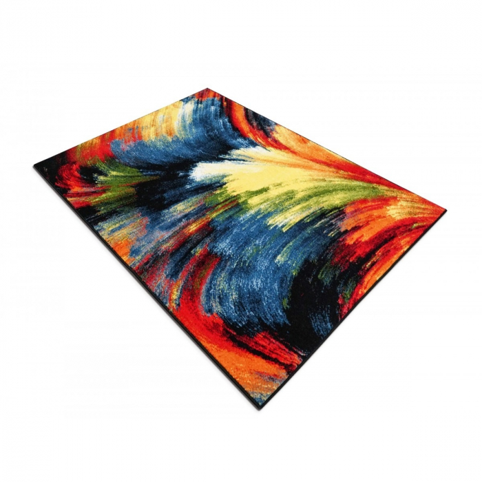 Covor Modern, Kolibri Brush 11017, Multicolor, 120x170 cm, 2300 gr/mp [3]