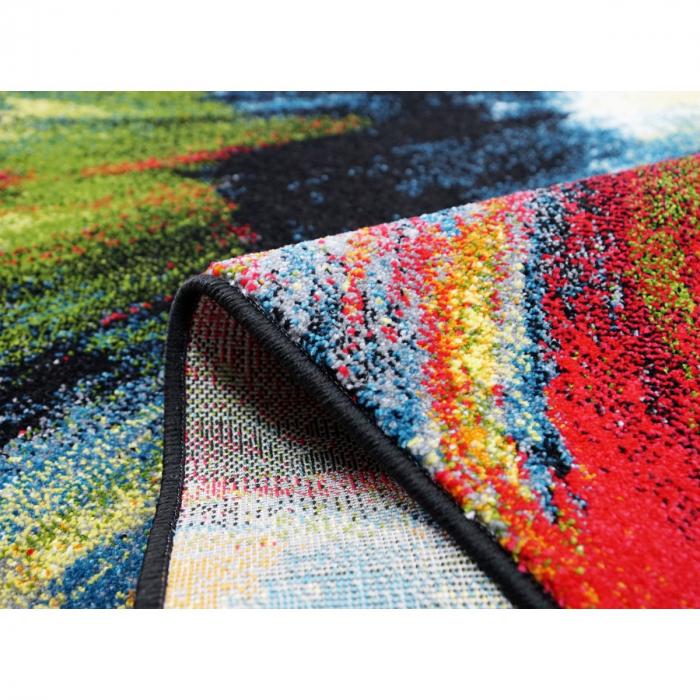 Covor Modern, Kolibri Brush 11017, Multicolor, 120x170 cm, 2300 gr/mp [7]