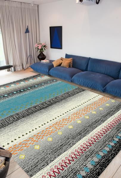 Covor Modern, Kolibri Country 11165-194, 67x130 cm, 2300 gr/mp [1]