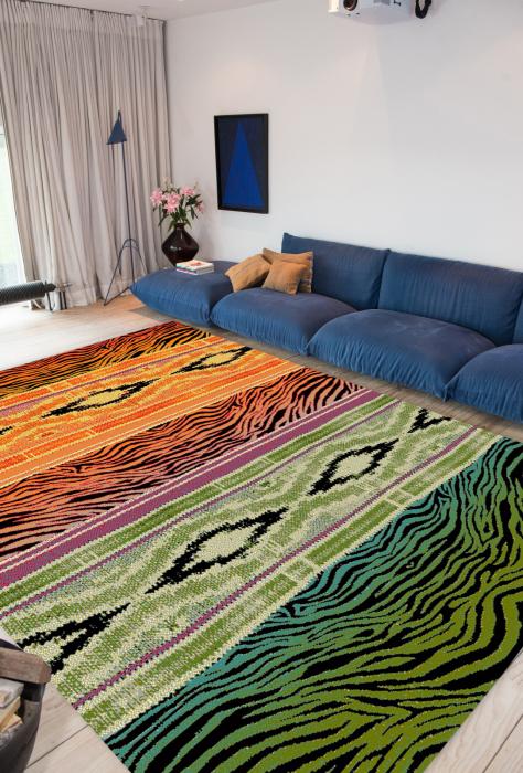 Covor Modern, Kolibri Ethnic 11330, 67x130 cm, 2300 gr/mp [1]