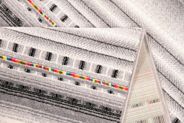 Covor Modern, Kolibri Ethnic Light, Gri, 120x170 cm, 2300 gr/mp 3