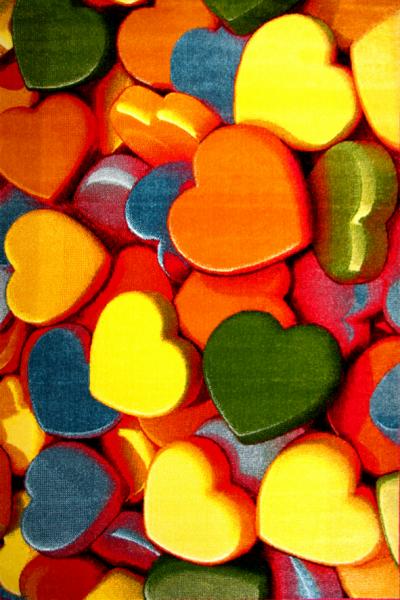 Covor Kolibri Hearts, 120x170 cm, 2300 gr/mp 0