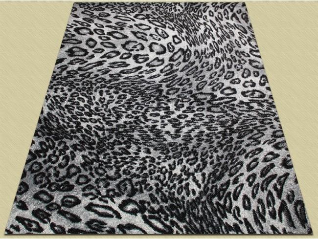 Covor Modern, Kolibri Leopard 11066, Alb / Negru, 160x230 cm, 2300 gr/mp 2
