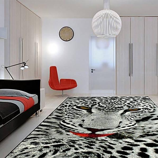Covor Kolibri Leopard 11122, 80x150 cm, 2300 gr/mp 2