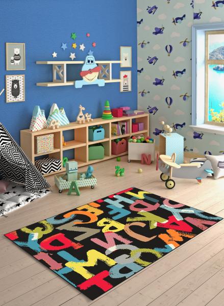 Covor Pentru Copii, Kolibri Litere, 120x170 cm, 2300 gr/mp [1]