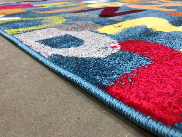 Covor Pentru Copii, Kolibri Litere, 120x170 cm, 2300 gr/mp [4]