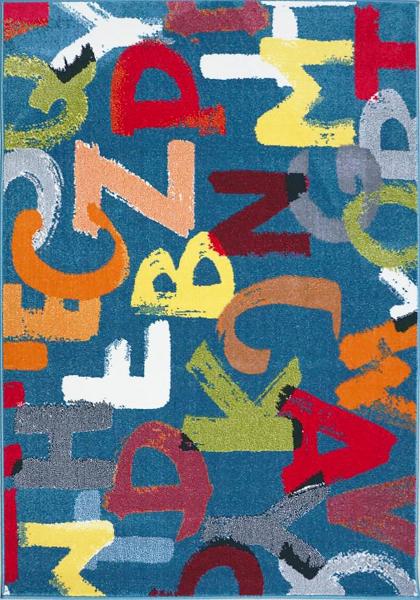 Covor Pentru Copii, Kolibri Litere, 120x170 cm, 2300 gr/mp [0]