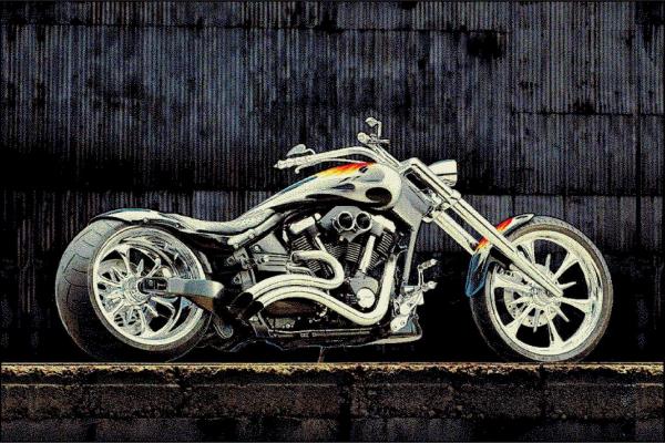 Covor Modern, Kolibri Motocicleta 11185, Multicolor, 120x170 cm, 2300 gr/mp 0