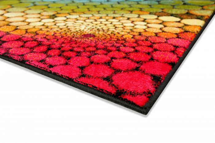 Covor Modern, Kolibri Multicolor 11056, 80x150 cm, 2300 gr/mp 4