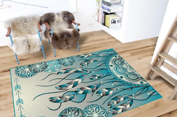Covor Modern, Kolibri Pene 11617, 120x170 cm, 2300 gr/mp [1]