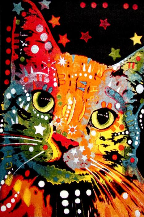 Covor Kolibri Pisica 11011, Multicolor, 160x230 cm, 2300 gr/mp 0