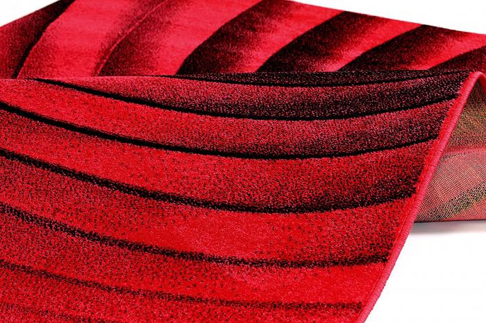 Covor Modern, Kolibri Spiral, Rosu, 80x150 cm, 2300 gr/mp [2]