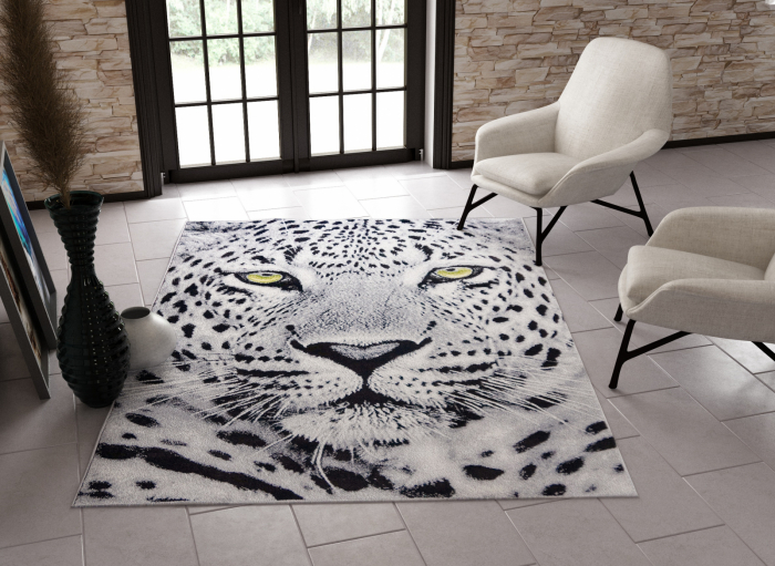 Covor Modern, Kolibri Tigru, 11368-190, 80x150 cm, 2300 gr/mp [1]