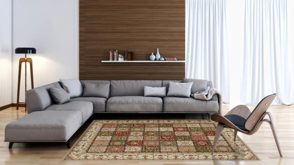 Covor Modern, Lotos 1518, Bej, 250x350 cm, 1800 gr/mp [1]