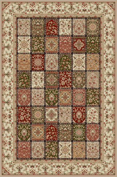 Covor Modern, Lotos 1518, Bej, 250x350 cm, 1800 gr/mp [0]