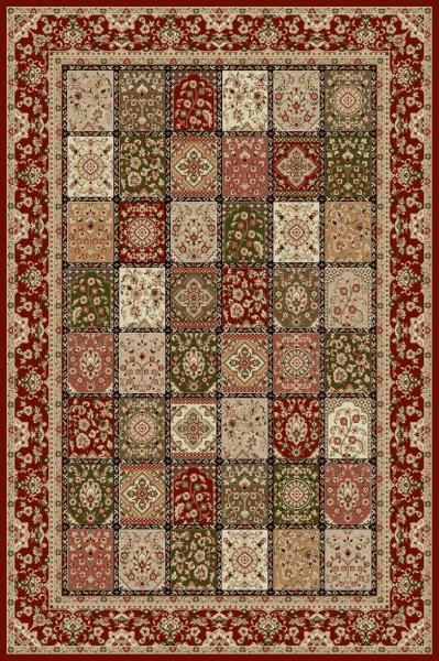 Covor Modern, Lotos 1518, Rosu, 250x350 cm, 1800 gr/mp 0