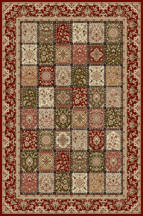 Covor Modern, Lotos 1518, Rosu, 300x400 cm, 1800 gr/mp [0]