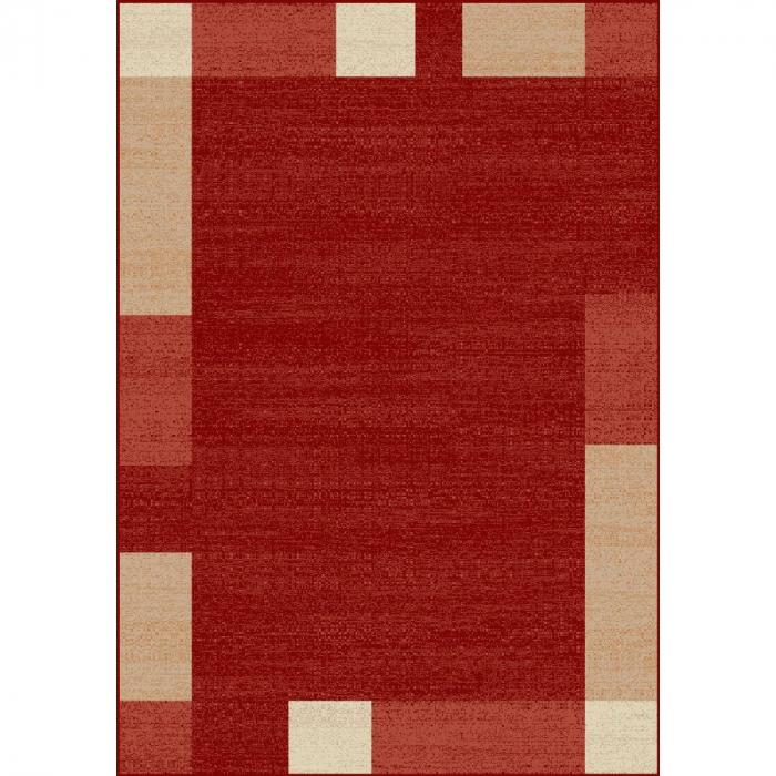 Covor Modern, Lotos 1570, Rosu, 80x150 cm, 1800 gr/mp [0]