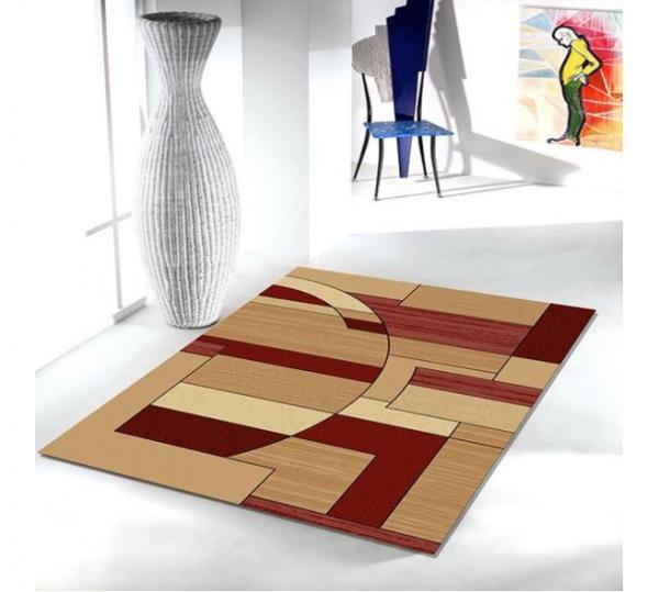 Covor Modern, Lotos 538, Rosu, 80x150 cm, 1800 gr/mp 1