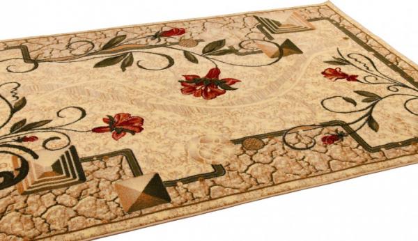 Covor Modern, Lotos 587, Crem, 80x150 cm, 1800 gr/mp 3