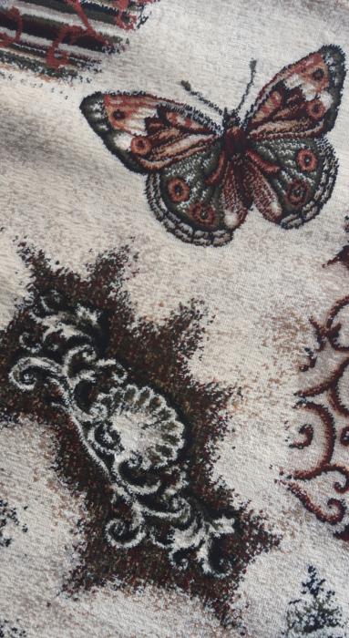 Covor Modern, Lotos Fluturi 1607, Oval, 80x150 cm, 1800 gr/mp 2