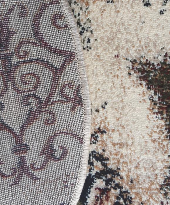 Covor Modern, Lotos Fluturi 1607, Oval, 80x150 cm, 1800 gr/mp 5