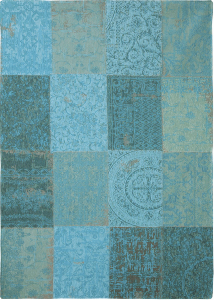 Covor Modern, Louis de Poortere, Vintage 8015, 80x150 cm, 100% Bumbac, 0.8x1.5 [1]