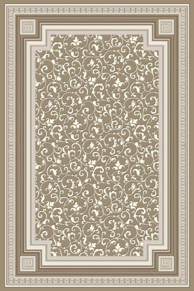 Covor Modern, Versailles 2522, Bej/Gri, 200x300 cm, 2130 gr/mp [0]