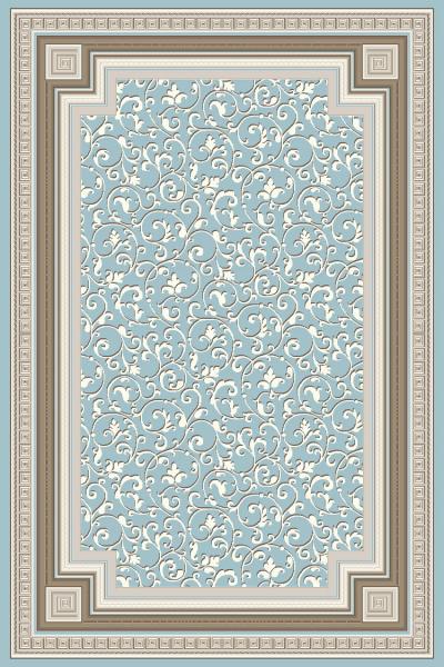 Covor Modern, Versailles 2522, Bleu, 160x230 cm, 2130 gr/mp, 1.6x2.3 [0]