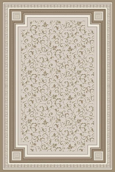 Covor Modern, Versailles 2522, Gri/Bej, 160x230 cm, 2130 gr/mp, 1.6x2.3 [0]