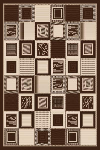 Covor pentru bucatarie, Natura Patratele, 80x200 cm, 1500 gr/mp 0