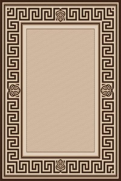 Covor Modern, Natura Versace, 900-19, Bej / Maro, 80x150 cm, 1500 gr/mp 0