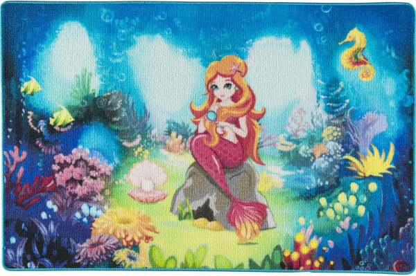 Covor Pentru Copii, Antiderapant, Mica Sirena, 1275 gr/mp 0
