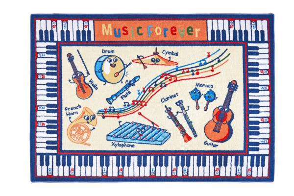 Covor Pentru Copii, Antiderapant, Music, 1632 gr/mp [0]
