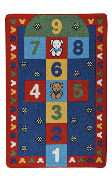 Covor Pentru Copii, Antiderapant, Sotron, Multicolor, 100x150 cm, 1282 gr/mp 0