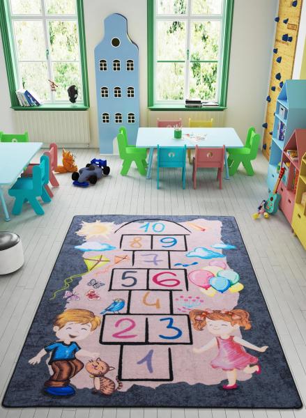 Covor Pentru Copii, Antiderapant, Street Game, 1275 gr/mp 1