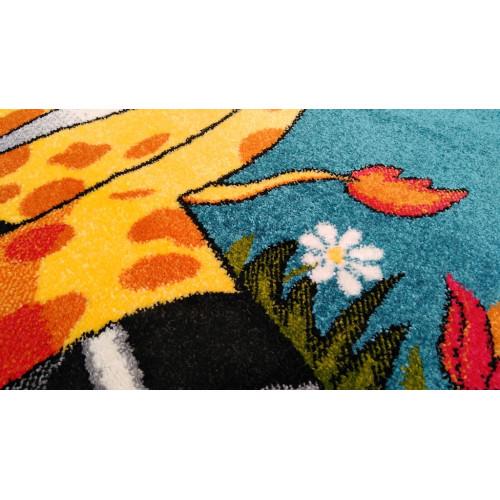 Covor Pentru Copii, Kolibri Girafa 11112, 80x150 cm, 2300 gr/mp 4